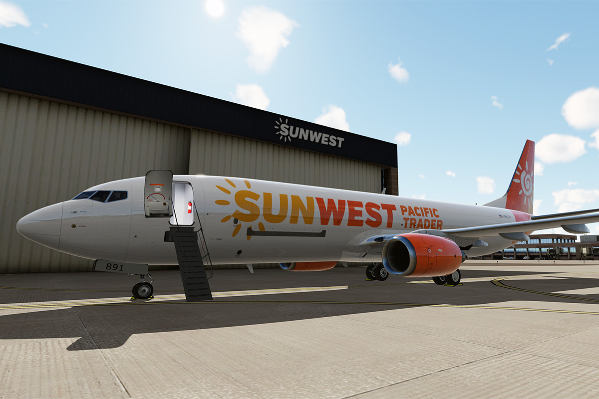 SunWest Launches Cargo Division, Announces Partnership with Amazon Air