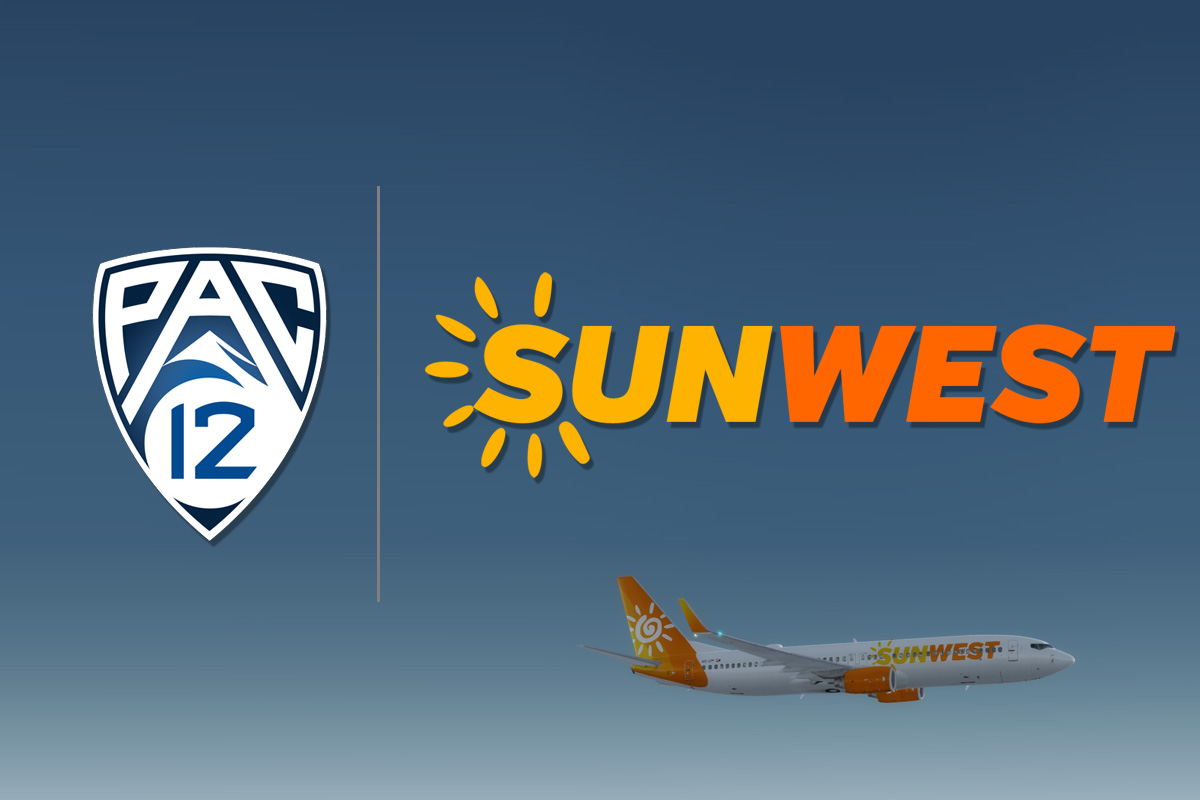 SunWest Airlines Announces Partnership With Pac-12