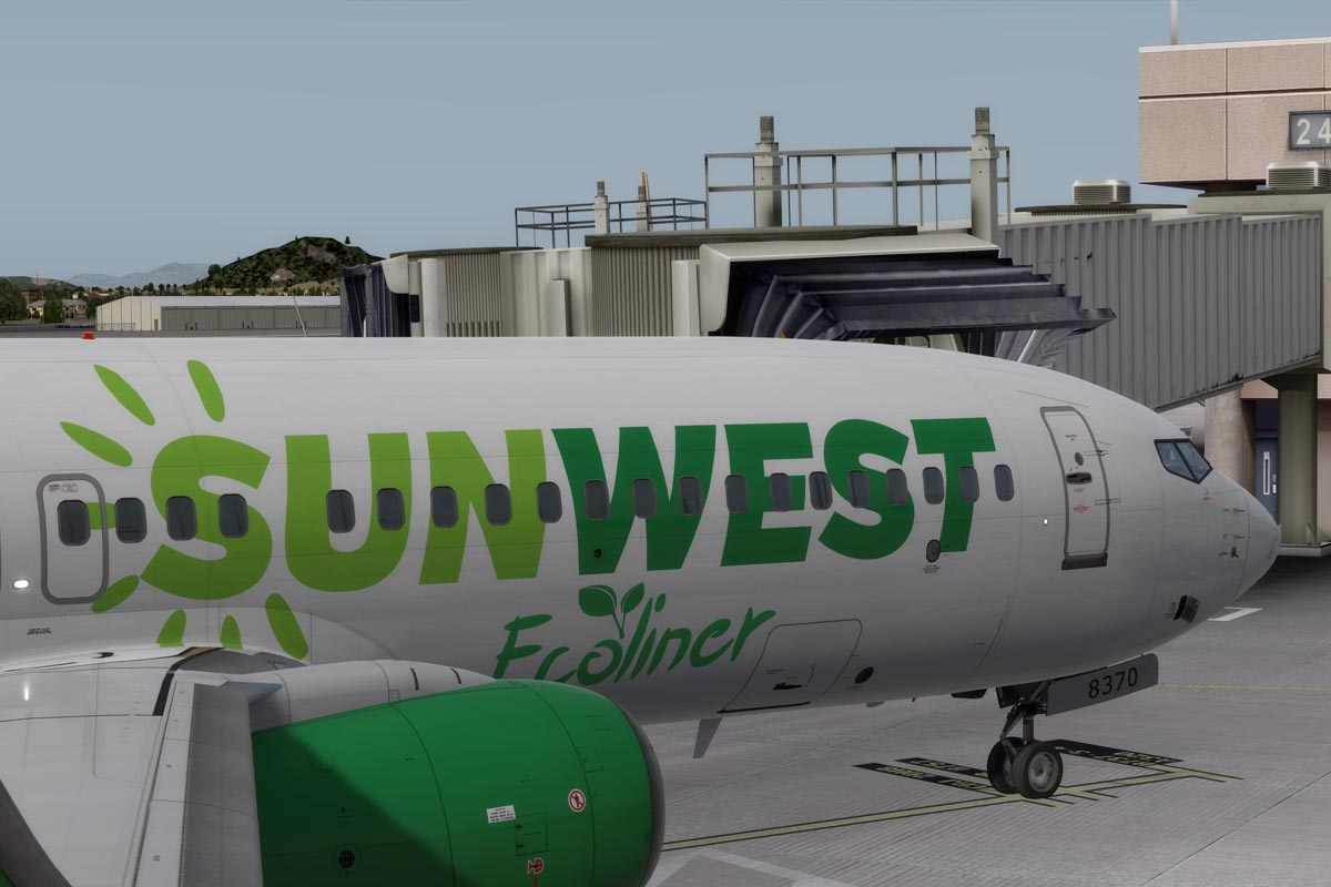 SunWest Unveils Ecoliner Livery, Commits to Sustainability